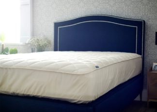 An Image of The Wool Room Deluxe Wool Mattress Protector King