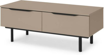 An Image of Damien Coffee Table, Cappuccino & Black