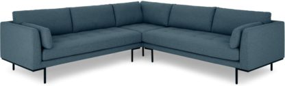 An Image of Harlow Corner Sofa, Orleans Blue