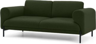 An Image of Orsel 2 Seater Sofa, Army Green