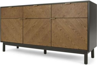 An Image of Belgrave Large Sideboard, Dark Stained Oak