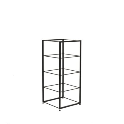 An Image of Heal's Tower Shelving Tall Module Black