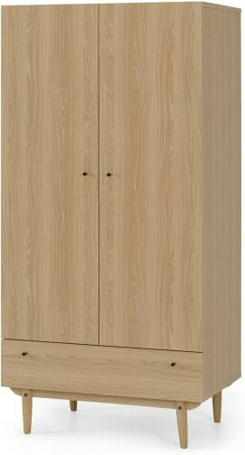 An Image of Asger Wardrobe, Oak Effect