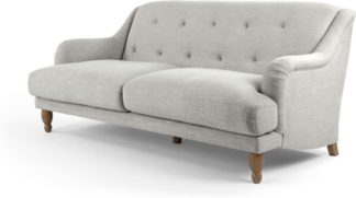 An Image of Ariana 3 Seater Sofa, Chic Grey