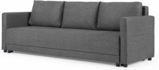 An Image of Brock Platform Sofabed, Pewter Grey