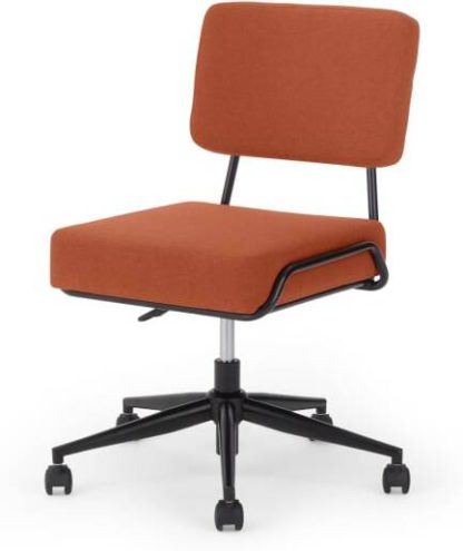 An Image of Knox Office chair, Retro Orange