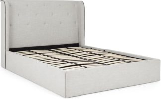 An Image of Ormond Super King Size Ottoman Storage Bed, Chic Grey