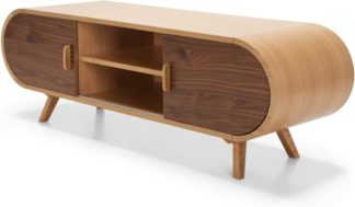 An Image of Fonteyn TV Stand, Oak and Walnut