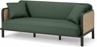 An Image of Toriko Click Clack Sofa Bed, Cedar Green