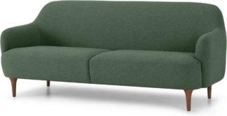 An Image of Lupo 3 Seater Sofa Darby Green