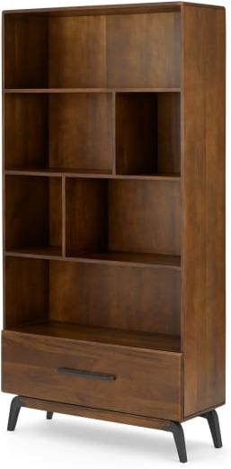 An Image of Lucien bookcase, Dark Mango wood