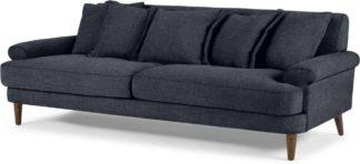 An Image of Eraldo 3 Seater Sofa, Kyoto Denim
