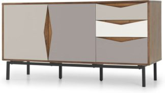 An Image of Louis Sideboard, Walnut & Warm Neutrals