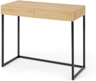 An Image of Hopkins Compact Desk, Oak Effect