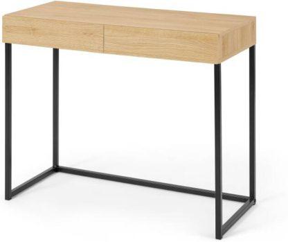 An Image of Hopkins Compact Desk, Oak Effect