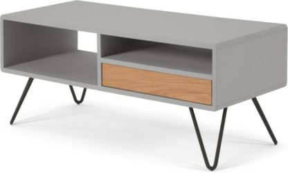 An Image of Ukan TV Stand, Grey and Oak