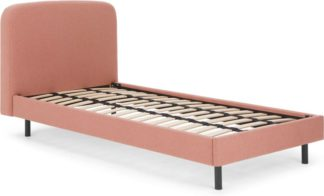 An Image of Besley Single Bed, Dusk Pink
