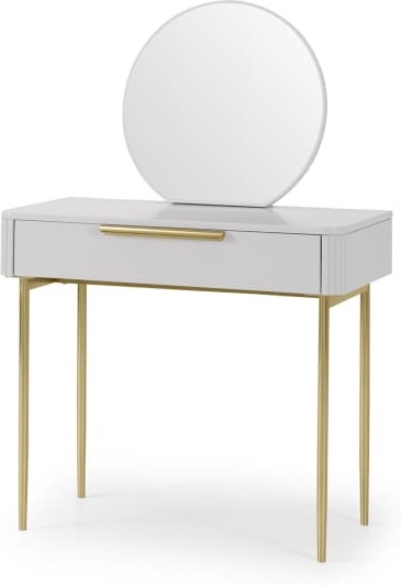 An Image of Ebro Dressing Table, Grey
