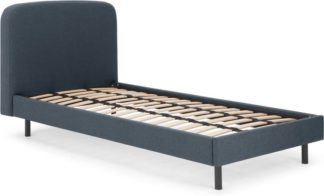 An Image of Besley Single Bed, Aegean Blue