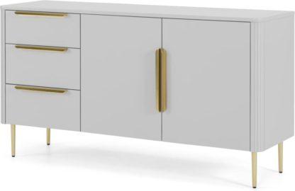 An Image of Ebro Sideboard, Grey