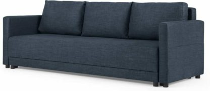 An Image of Brock Platform Sofabed, Navy