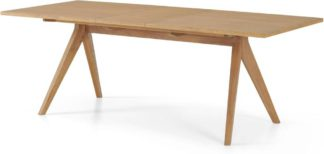 An Image of Wingrove 8-10 Seat Extending Dining Table, French Oak