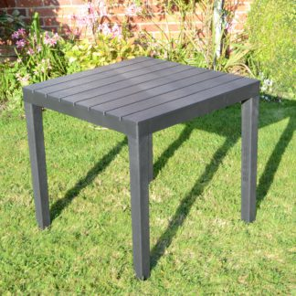 An Image of Trabella Roma Square Table Grey