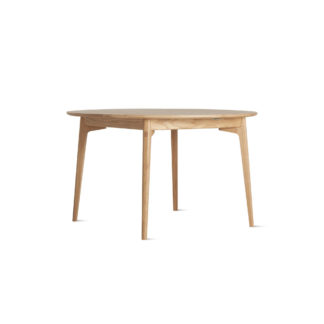 An Image of Case Dulwich Round Extending Table Oak