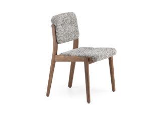An Image of De La Espada Capo Dining Chair Oiled Walnut