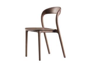 An Image of Artisan Neva Light Chair Wooden Seat