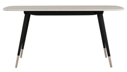 An Image of Ercol Originals Plank Dining Table 4-6 Seater Black