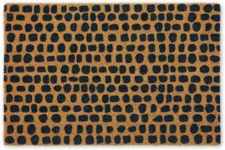 An Image of Uxi Coir Doormat, 60 x 90cm, Dark Navy
