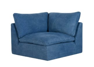 An Image of Timothy Oulton Noble Souls Nest Corner Seat Sofa Old Loom Ocean