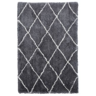 An Image of Morocco 2491 Rug Grey