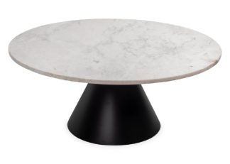 An Image of Heal's Cezanne Circular Coffee Table Marble