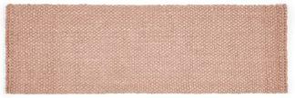 An Image of Rohan Woven Jute Runner 66 x 200cm, Soft Pink