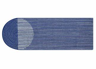 An Image of Gandia Blasco Ply Blue Runner 104 x 300cm