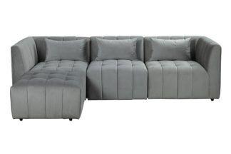 An Image of Essen Three Seat Corner Sofa – Dove Grey