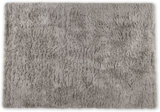 An Image of Erin Deep Pile Rug, Large 160 x 230cm, Warm Grey