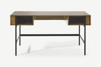 An Image of Morland Wide Desk, Mango Wood