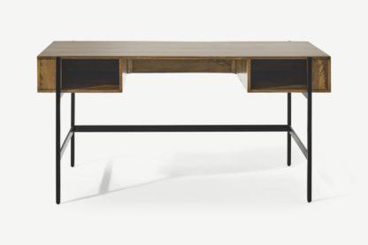 An Image of Morland Wide Desk, Mango Wood