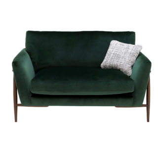 An Image of Ercol Forli Snuggle Chair, Velvet