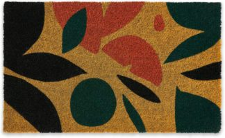 An Image of Azelma Coir Doormat, 45 x 75cm, Multi