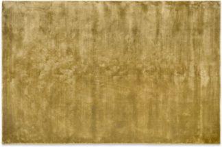 An Image of Merkoya Luxury Viscose Rug, Extra Large 200 x 300 cm, Antique Gold