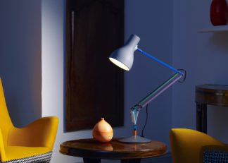 An Image of Anglepoise Type 75 Desk Lamp Paul Smith Edition Two