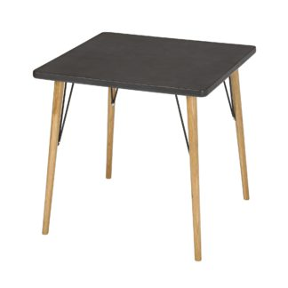 An Image of Mercer Dining Table Black