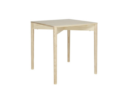 An Image of Ercol Luca Square Dining Table Ash