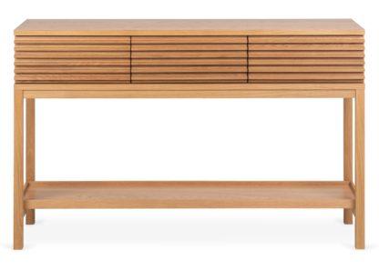 An Image of Heal's Verona Console Table Oak