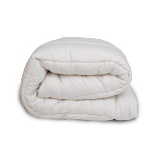 An Image of The Wool Room Deluxe Wool Mattress Topper Double