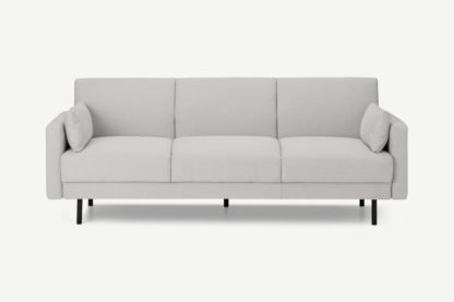 An Image of Delphi Click Clack Sofa Bed, Biscotti Weave